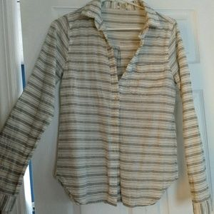 Long Sleeve Cotton Button Up
